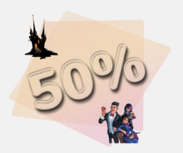 Halloween 50% Special Offer