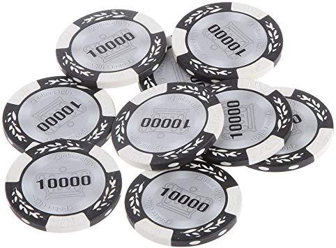 jetons d'argile pour poker