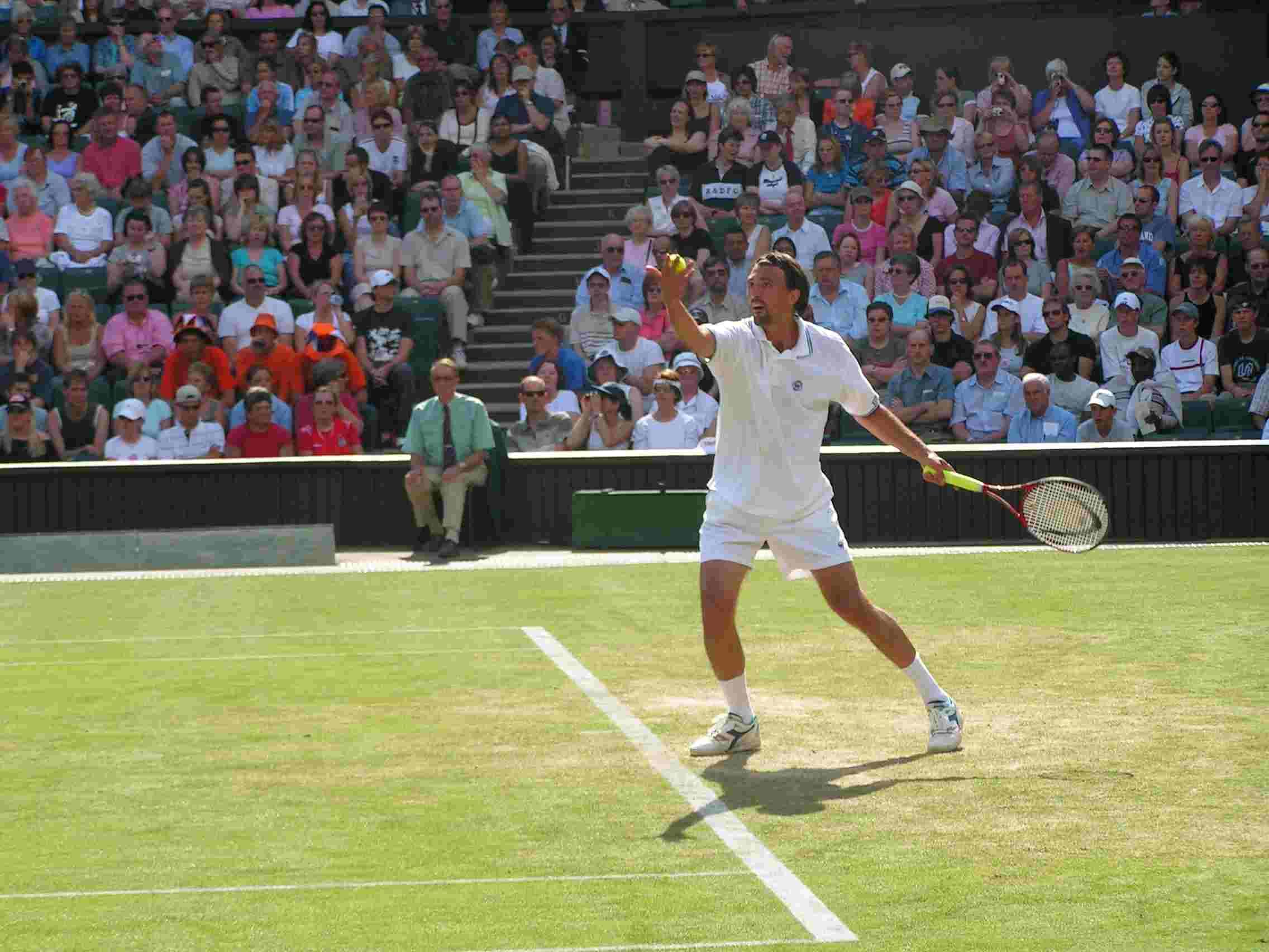 Goran Ivanisevic Winning Wimbledon in 2001