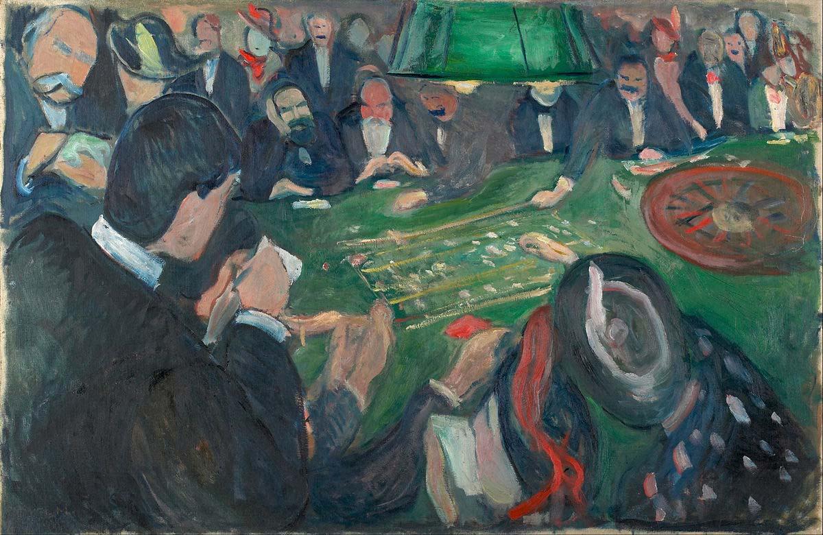 Les peintures les plus célèbres sur le casino en ligne