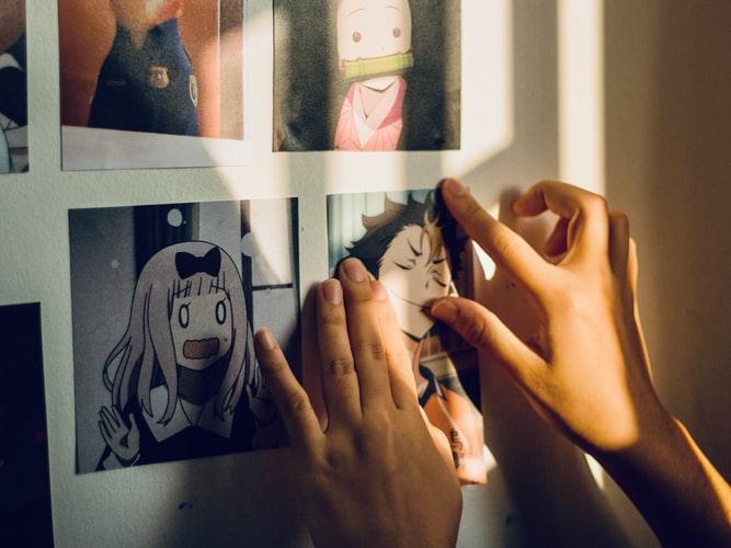 Creative manga comics for parties