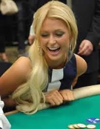 Paris Hilton is gambling